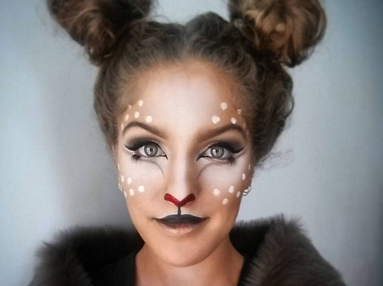 maquillaje-halloween-animal-reno
