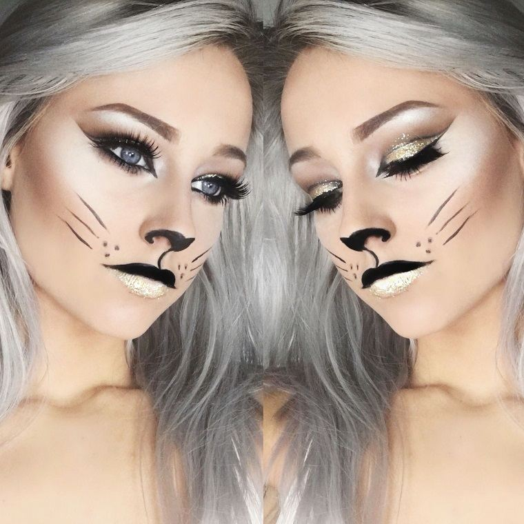 maquillaje-halloween-gatita