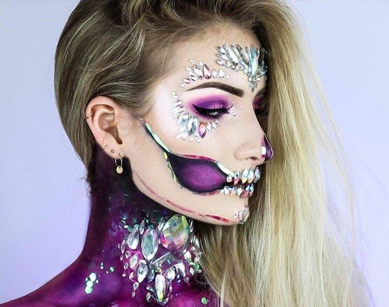 maquillaje-halloween-glamuroso-estilo-peidras