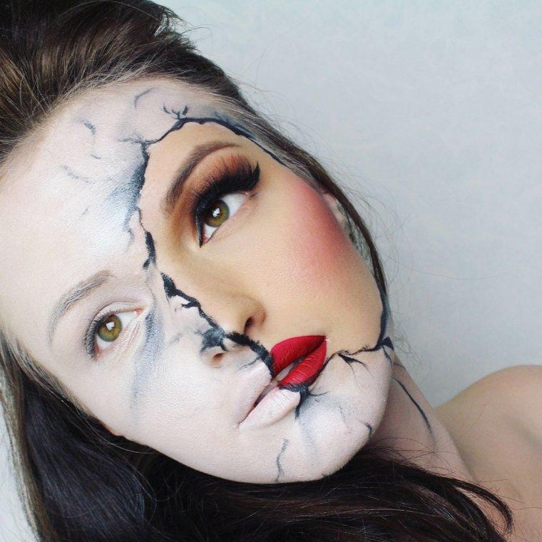 maquillaje-halloween-inspirado-cara-rota