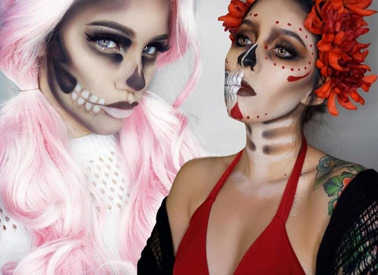maquillaje para Halloween 2018