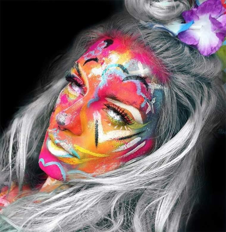 maquillaje-para-Halloween-en-colores