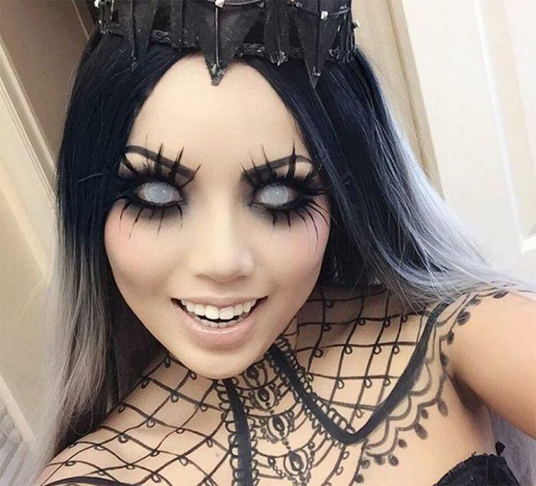 maquillaje para Halloween ideas
