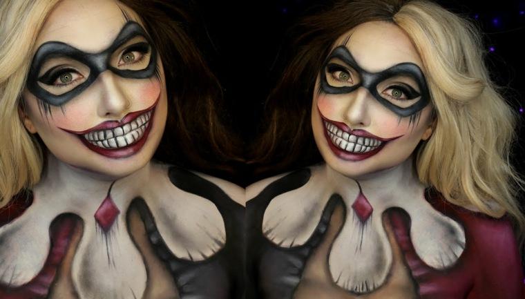 maquillaje-terrorifico-halloween-fiesta-payaso-ideas