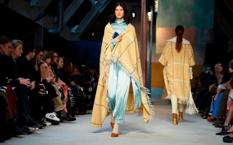 moda para mujer mantas