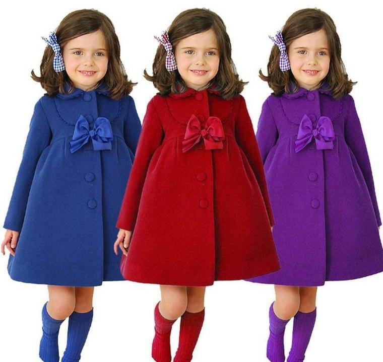 moda para ninas-abrigos-colores