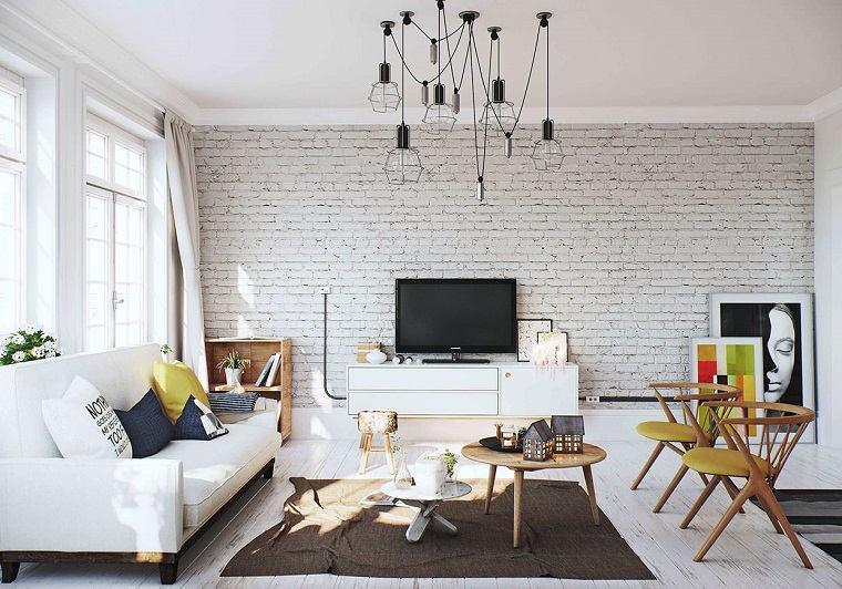 colores para casas moderno lineas limpias amarillo