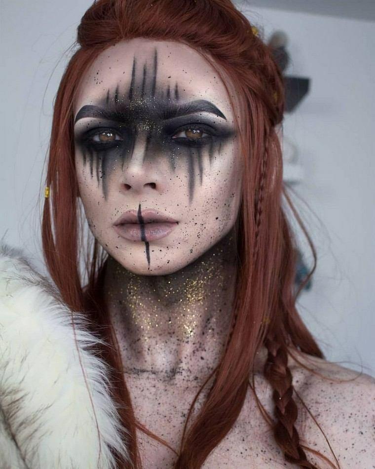 mujer-maquillaje-estilo-original-belleza