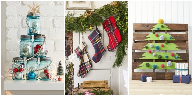 navidad adornos caseros faciles baratos