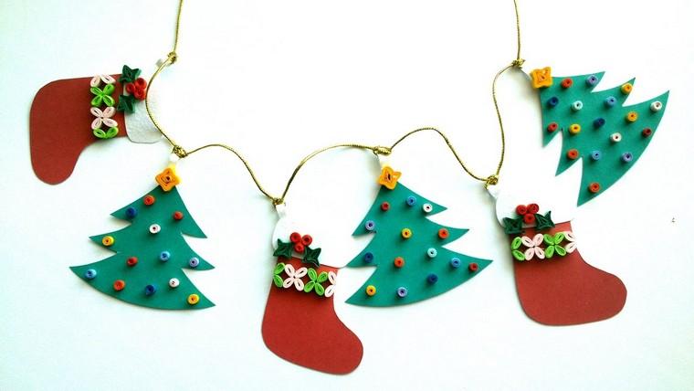 navidad adornos sencillos diy