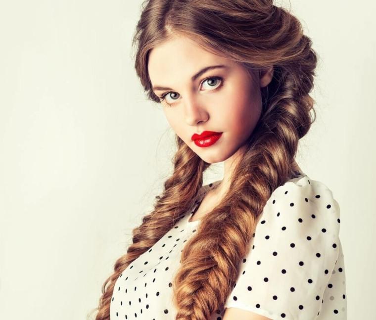 peinados de moda-dos-trenzas
