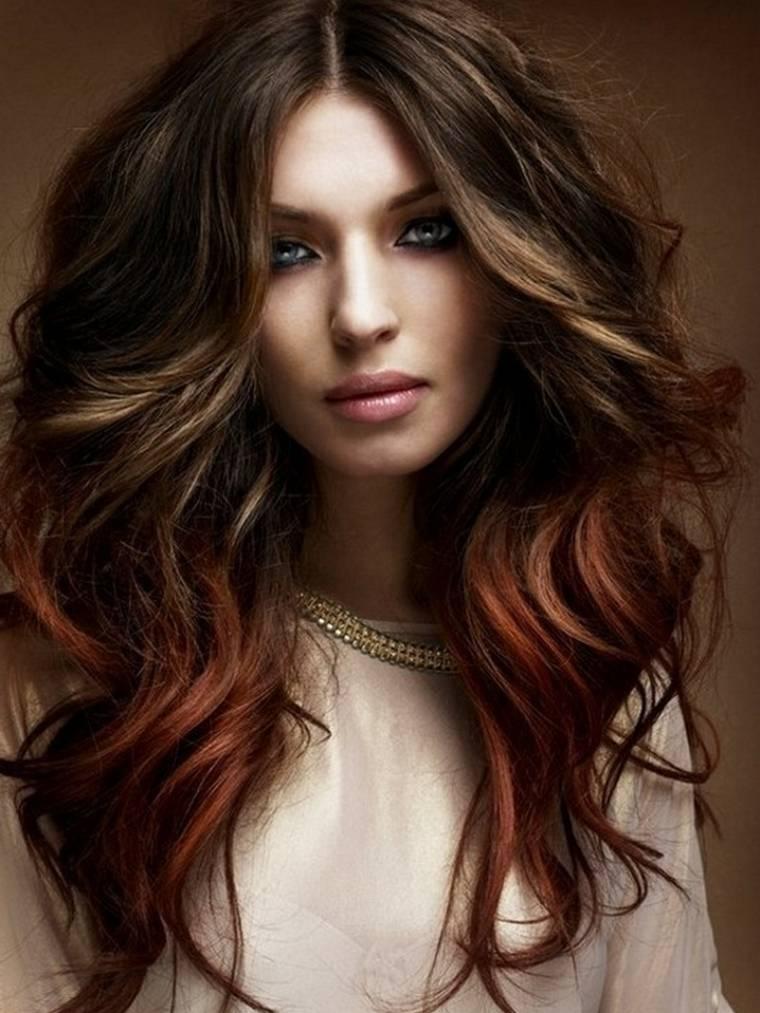 peinados de moda para mujeres-dos-colores