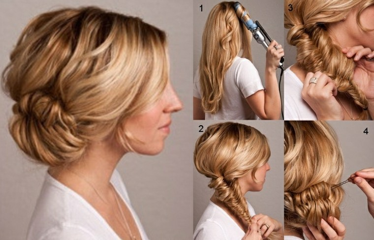 peinados faciles y rapidos-caseros