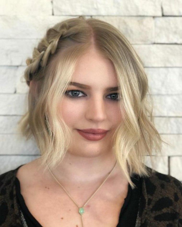 Peinados para fiesta bob