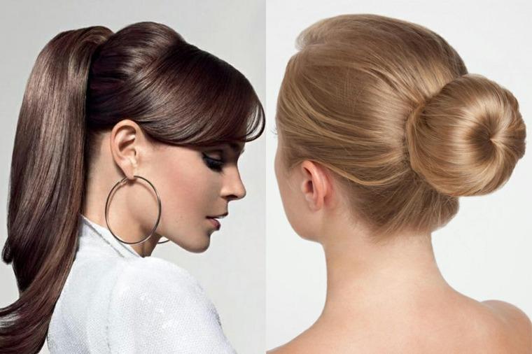 peinados recogidos de moda-faciles