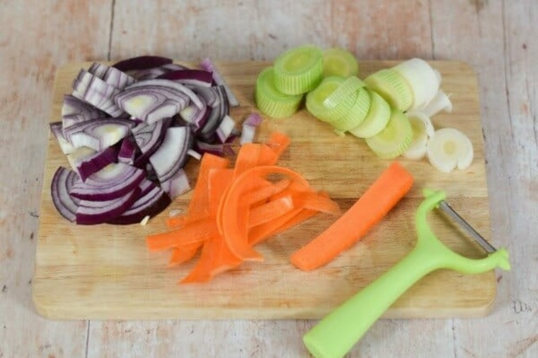 preparación-de-las-verduras