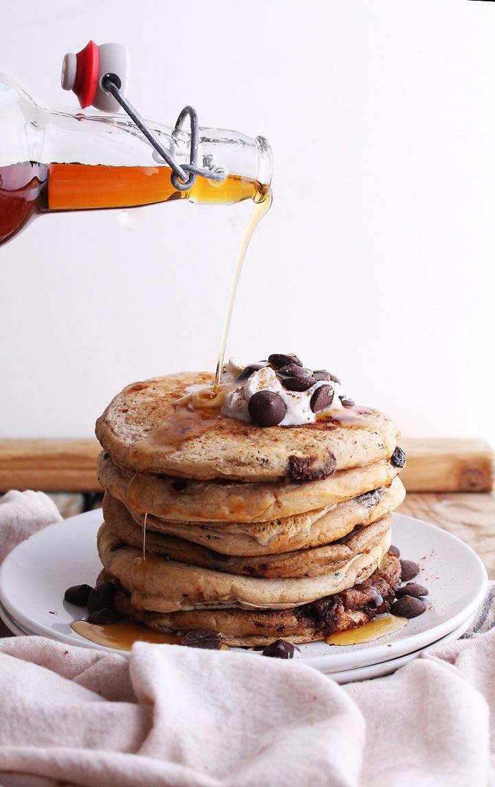 receta tortitas desayunos saludables