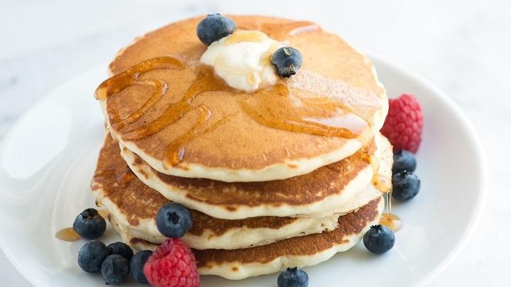 receta tortitas frutas combinadas