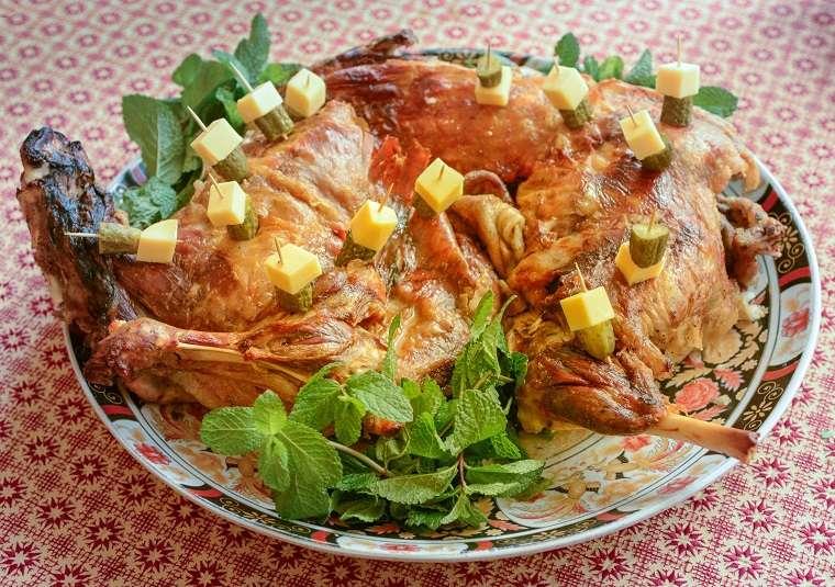 recetas maroqíes fáciles-carne-cordero-asado