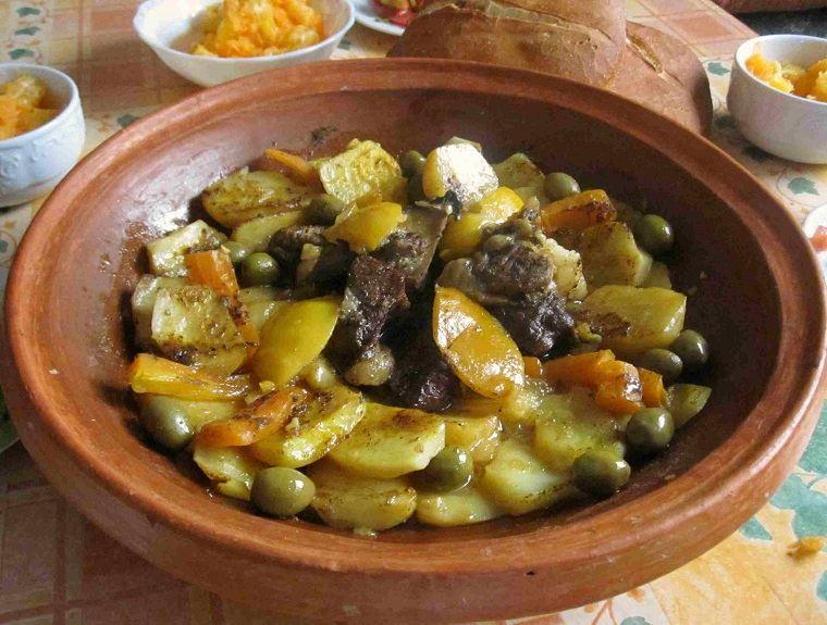 recetas-maroquies-faciles-tajine-carne