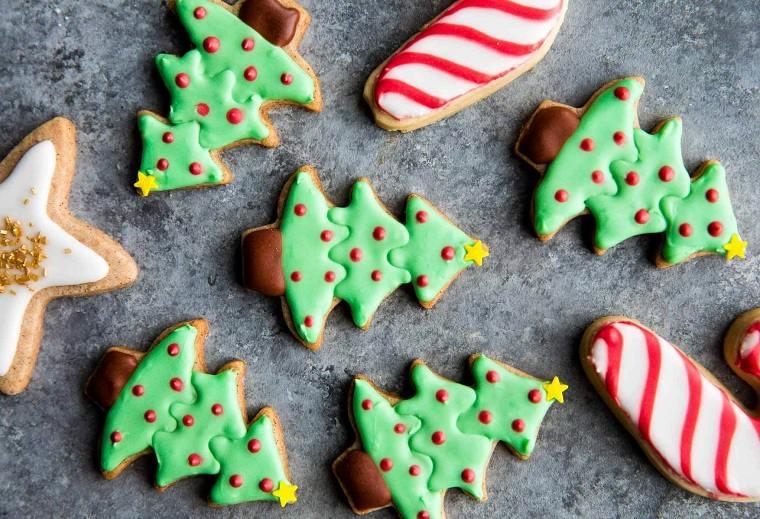 recetas para navidad-galletas-clasicas-formas-ideas