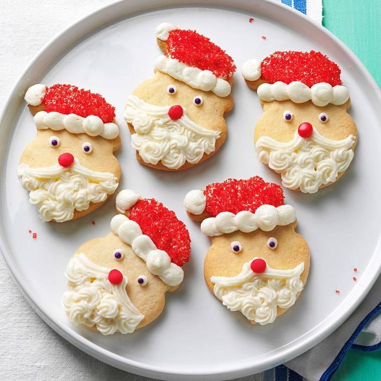 recetas-para-navidad-galletas-papa-noel