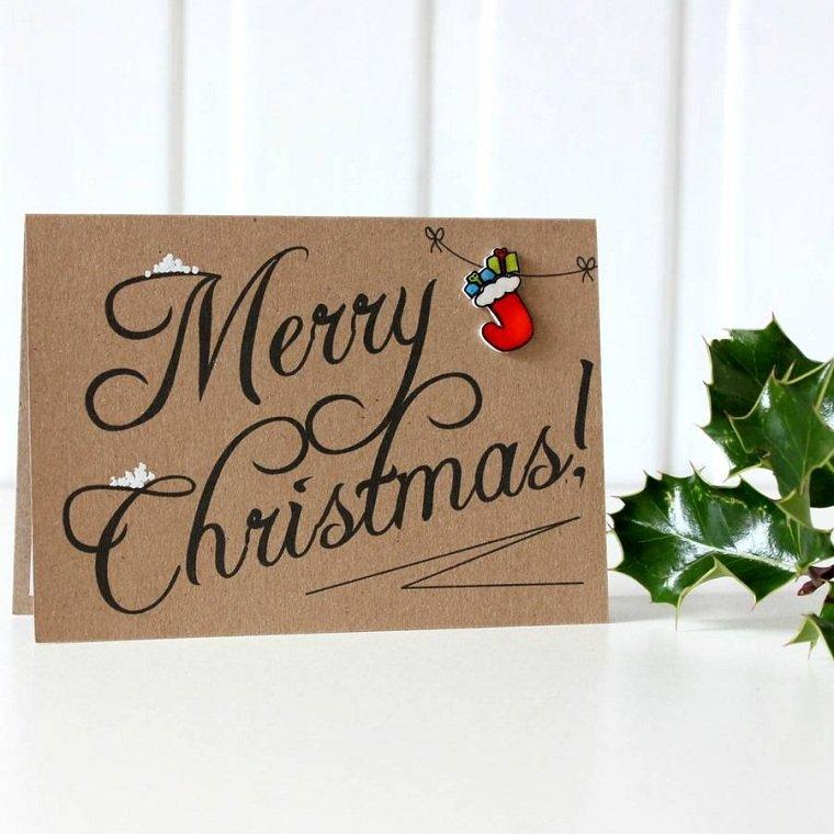 tarjetas de feliz navidad-estilo-original