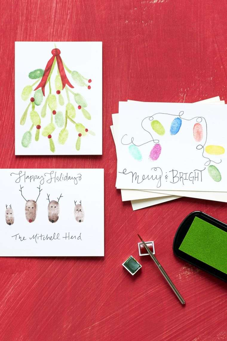 tarjetas-de-feliz-navidad-huellas-dactilares