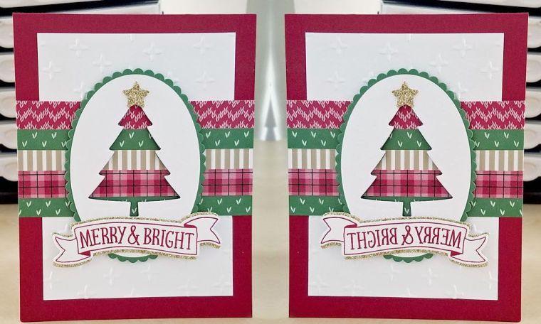 tarjetas de feliz navidad-rojas