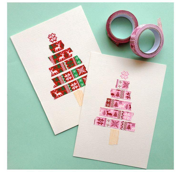 tarjetas de feliz navidad-washi-tape-opciones