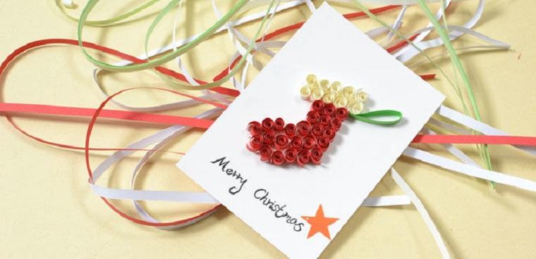tarjetas-navidad-papel-distintos-colores