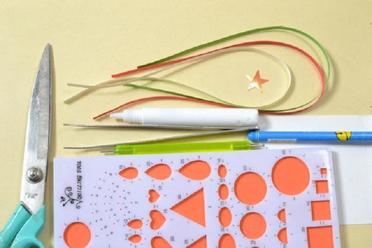 tarjetas-navidad-papel-materiales