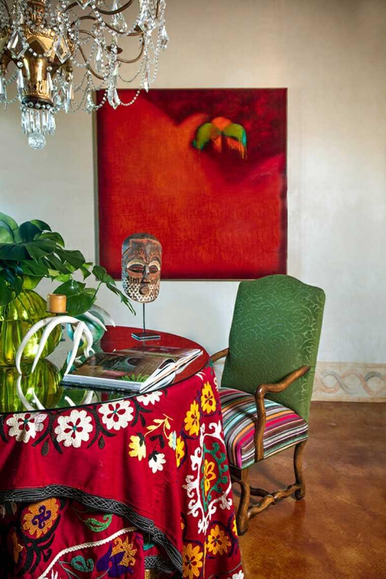 usos de eclecticismo en interiores