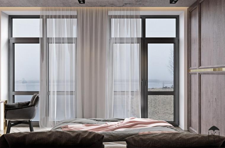 ventanas-con-carpintería-negra