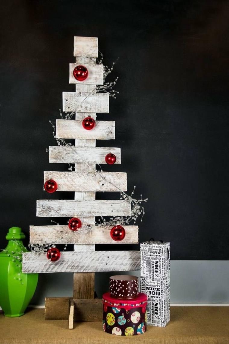 Abeto navideño Diy de madera