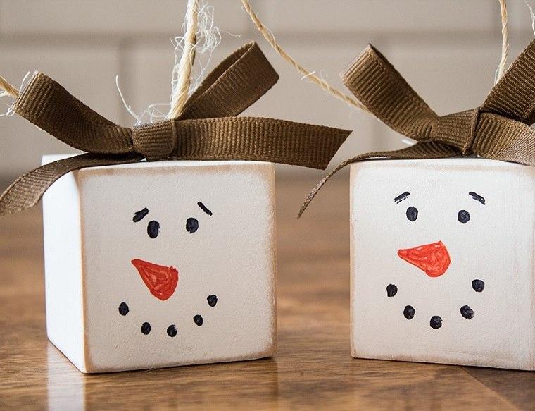 adorno-navideno-colgar -arbol-muneco-nieve-opciones