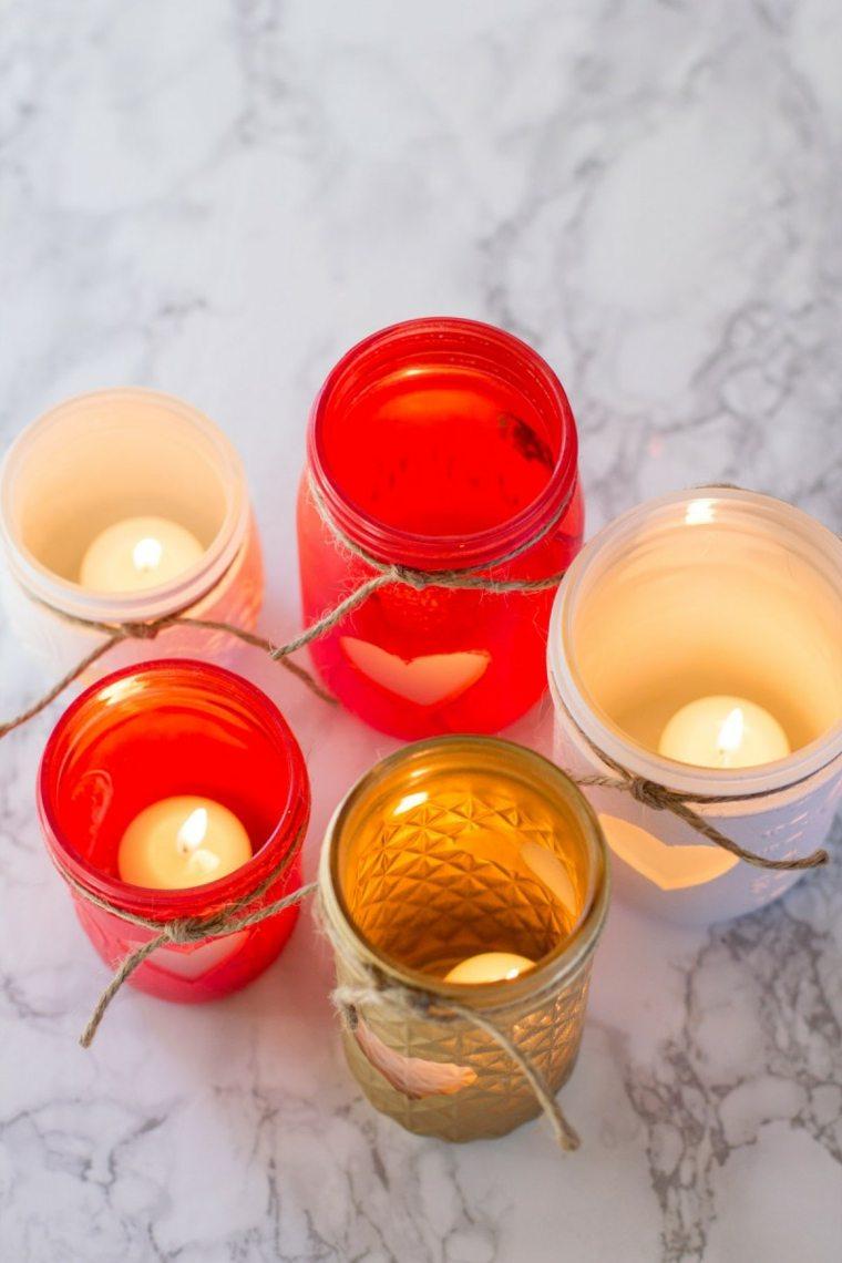 adornos de navidad-decorar-velas