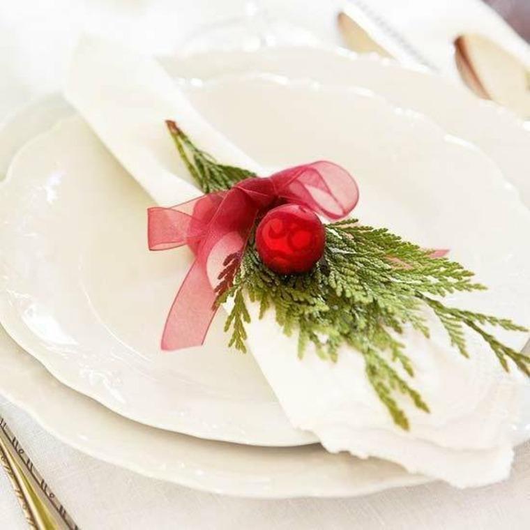 Decoración de Navidad para la mesa