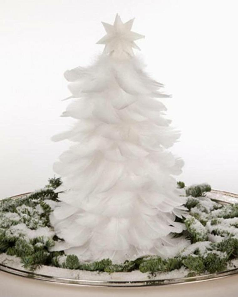 arbol de navidad-decorado-nieve