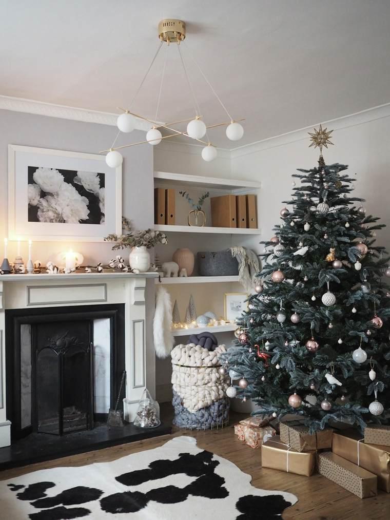 arbol navidad-decoracion-escandinava