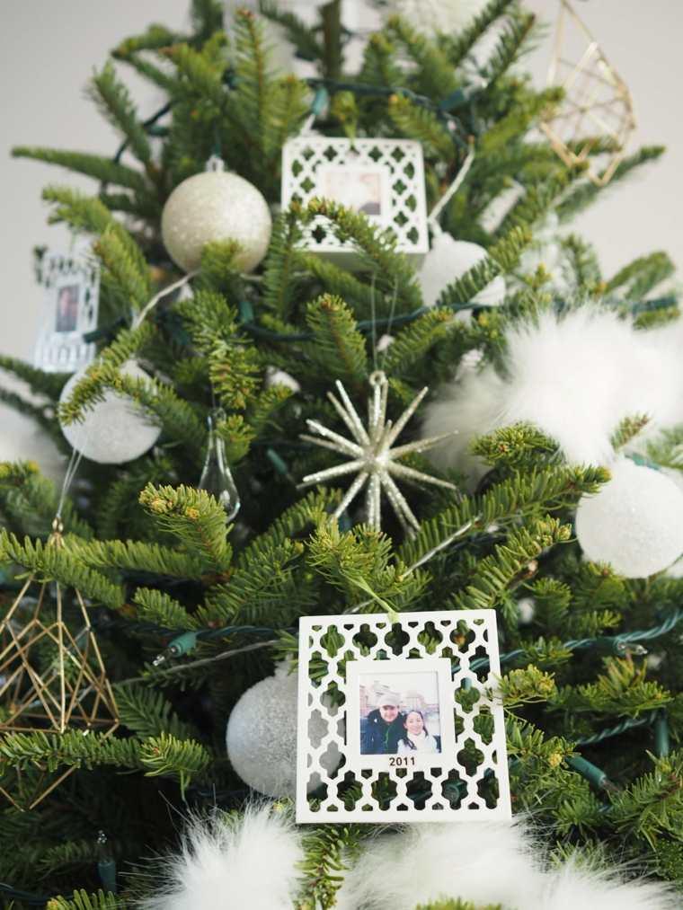 arboles de navidad artificiales-decorados