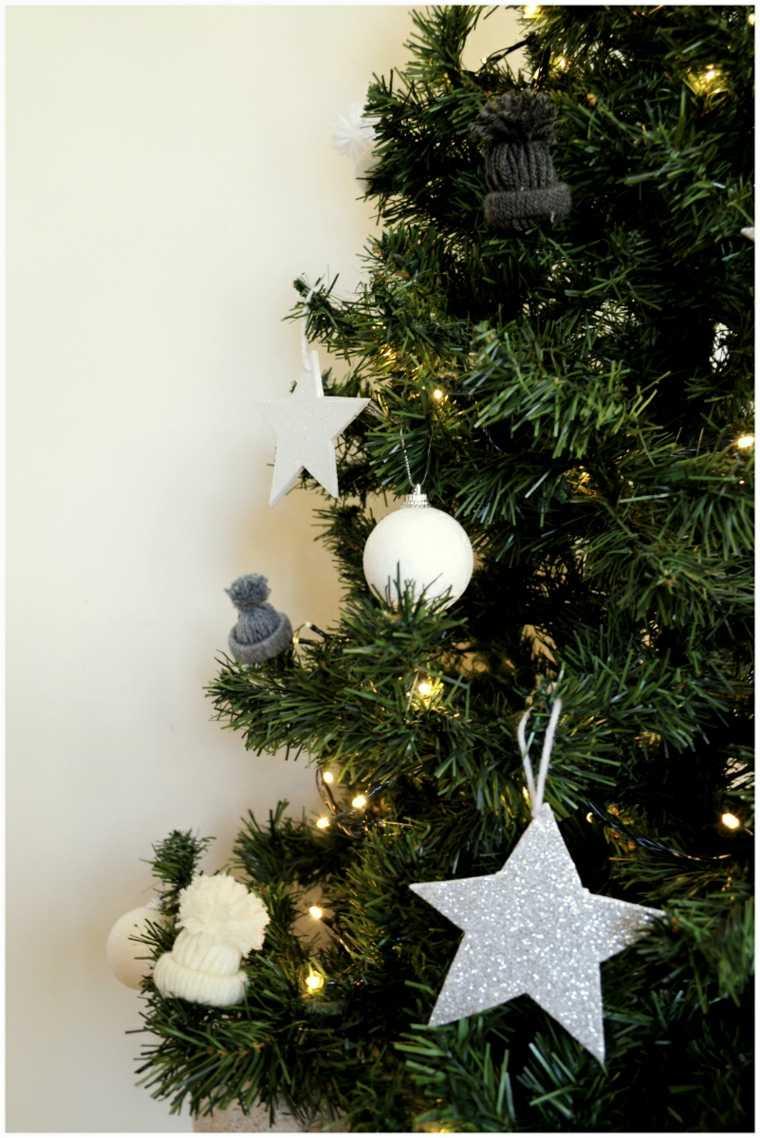 arboles de navidad artificiales-estrellas