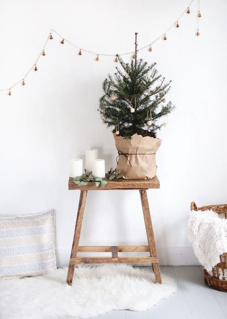 árbol de navidad pequeño-maceta