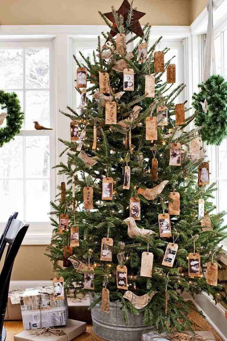 arboles-navidenos-decorados-estilo-rustico-detalles-rusticos