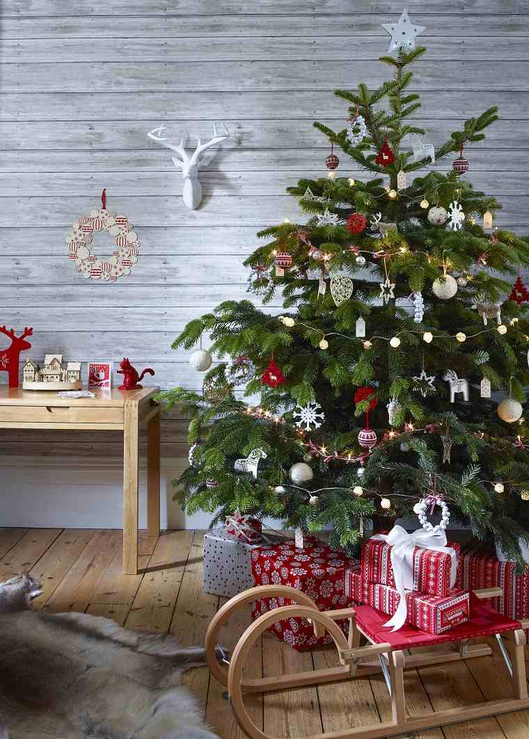 arboles-navidenos-decorados-inspiracion-escandinava-rustica