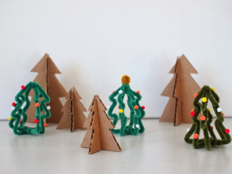 arboles-pequenos-carton-navidad