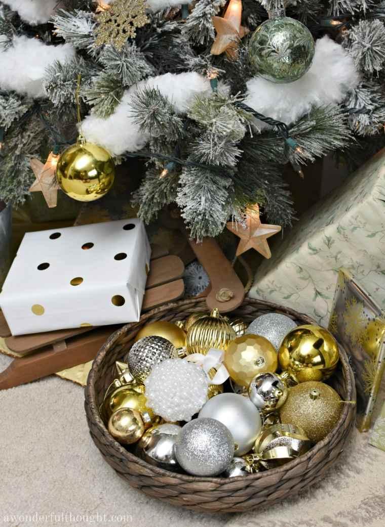 articulos de navidad-decorados-nieve