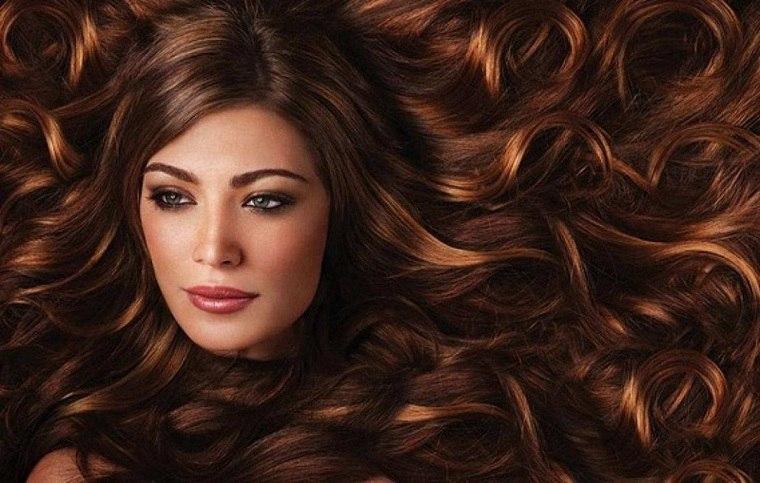 cabello castaño oscuro-rojizo-ideas