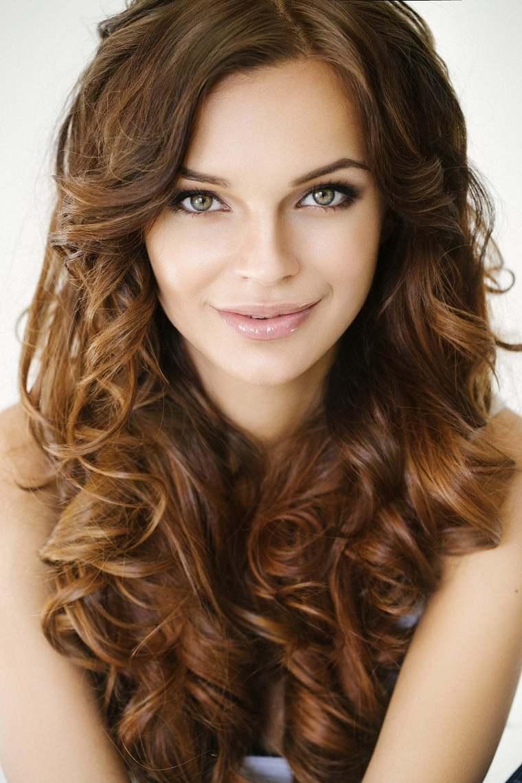 cabello castaño rojico-opciones-color