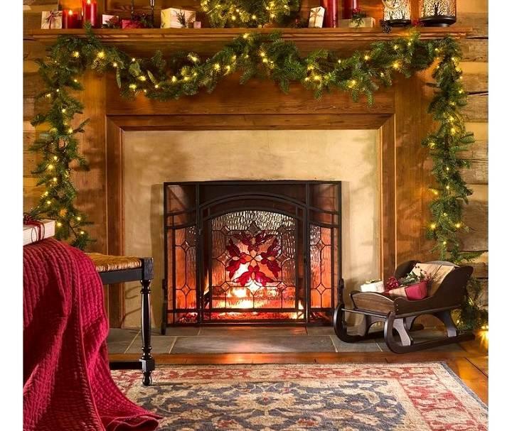 chimeneas-tradicionales-decoradas-navidad